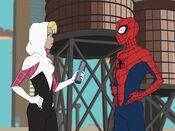PeterGwen (Spider-Man 2017) 6