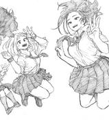 Momochako (Horikoshi Sketch 6)