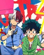 (Official Painting Art) TodoDeku