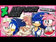 Sonic and Amy VS DeviantArt AGAIN (FT Tails)