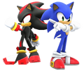 Sonic and Shadow (SSBWiiU) by Banjo2015