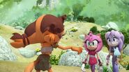 SonicBoom Amy&Perci confronted by Sticks