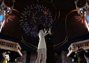 Squall and Rinoa dance fireworks from FFVIII Remastered