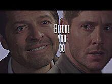 Dean&Castiel-Before you go(15x18) DESTIEL IS CANNON