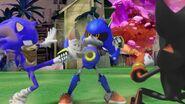 SonicBoom Metal dodges Sonic