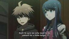 Naegi confuses Junko Danganronpa 3 - Despair Arc