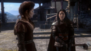OUAT Belle and Mulan (The Outsider)