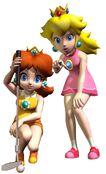 Princess-peach-and-daisy-golf