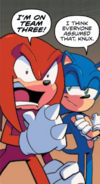 Sonic and Knuckles IDW Issue 9