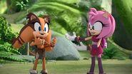 SonicBoom Sticks&Amy bragging