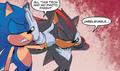 Sonic & Shadow - Team Sonic Racing One-shot