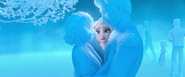 Elsa seeing Ice Iduna wanting to tell Agnarr the Truth of her Past