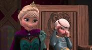 Elsa and Merida by mostlydisneyfemslash 1