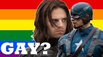 Are They Gay? - Captain America and the Winter Soldier (Stucky)