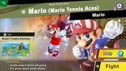 132. Mario Mario Tennis Aces - Fair Spirit Battle - Super Smash Bros