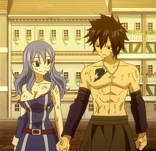 Fairy Tail Gray And Juvia