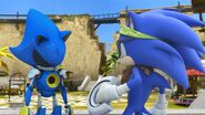 SonicBoom Sonic bumps into Metal