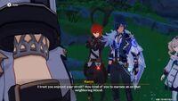 Kaeya teasing albedo