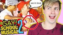 SECRET GAY STORYLINE IN HIGH SCHOOL MUSICAL 2?!