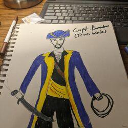 Captain Neil Barnabus