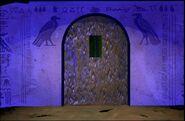 Door To Underground Passageway