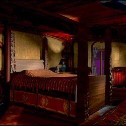 Professor Windlenot's Bedroom