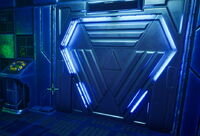 SSR Elevator Closed