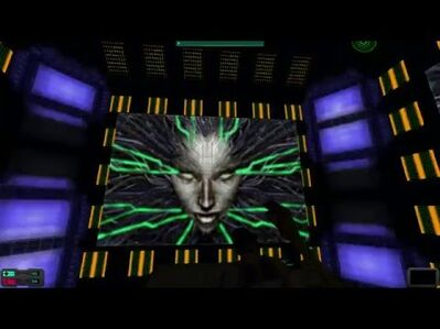 System Shock 2- SHODAN's Reveal (NO MODS!) (now with subtitles!)