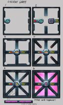 Laser-Energy Door 1