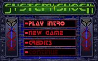 System Shock 1 main menu