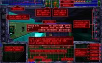 System Shock 1 Screen Help Overlay
