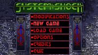 System Shock 1 Enhanced Edition Source Port main menu, normal gamma