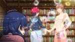 Sōma schüttelt Satoshis Hand