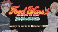 Food Wars! Shokugeki no Soma The Fourth Plate Teaser PV