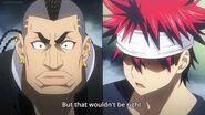 Shokugeki no Soma (Food Wars) - Soma Yukihira vs Subaru Mimasaka (round 1 Totsuki Autumn Election)
