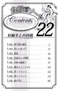Volume 22 Table of Contents