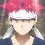 Sōma Yukihira mugshot (anime).png