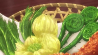 Char Okakiage Salad