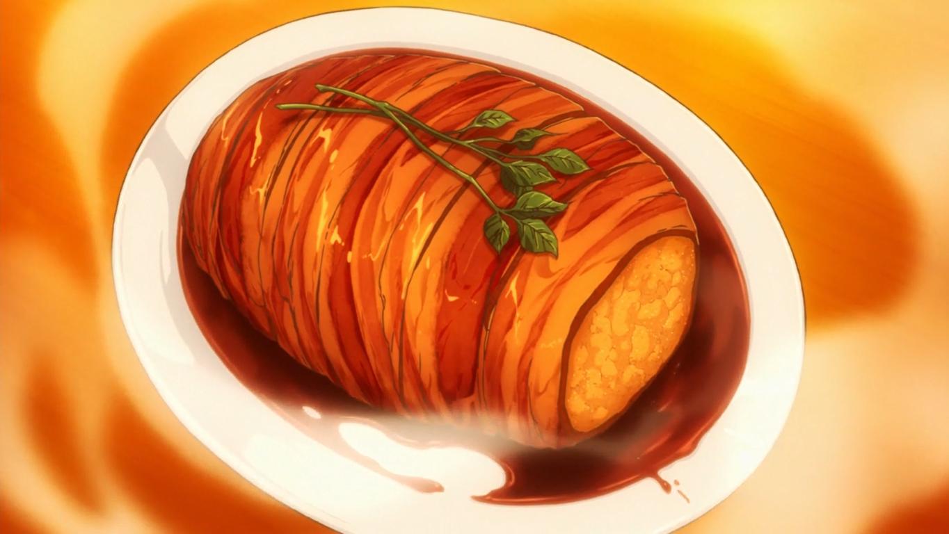 Roast Pork Just Kidding Shokugeki No Soma Wiki Fandom