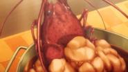 Lobster Head Close-up