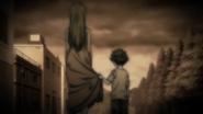 Asahi & his mother (Ending 7)