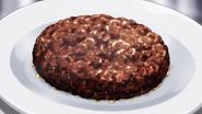 Bear meat hamburg steak