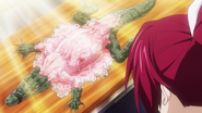 Skinned alligator anime