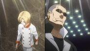 Shokugeki no Soma (Food Wars) - Takumi Aldini vs Subaru Mimasaka (round 1 Totsuki Autumn Election)