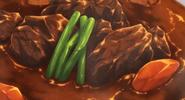 Beef Stew Close up
