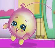 Cartoon june balloon