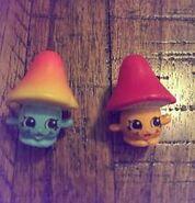 Milly mushroom toys