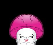 Button mushroom ct art