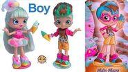 Shoppies BOY Doll ! Comic Con Limited Edition Shopkins Set !