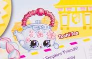 Toshi tea box art